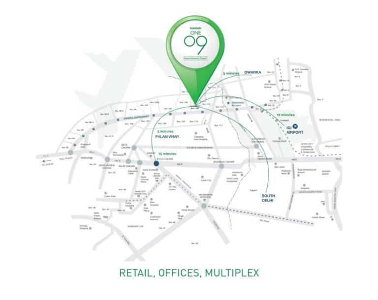 Indiabulls One 09 Dwarka Expressway, Gurgaon Commercial, Retail Shop