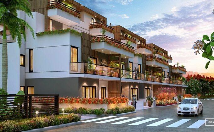 Central Park Flower Valley Fleur Villas Sector 11 Sohna, Sohna Flats & Apartments, Luxury