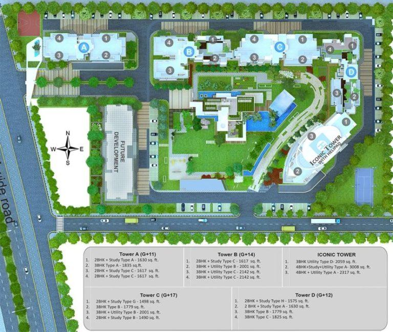 Godrej Icon Gurgaon, New Gurgaon (NH8) Flats Apartments, Luxury
