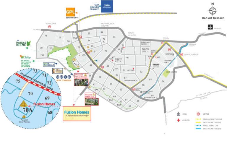 Pyramid Fusion Homes Affordable Housing Sector 70A, Gurgaon