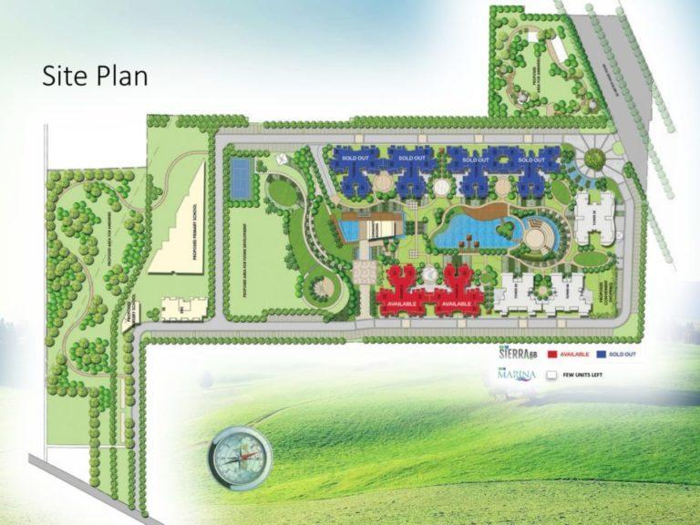 M3M Sierra 68 Gurgaon, Sohna Road Flats & Apartments, Luxury-Site-Plan