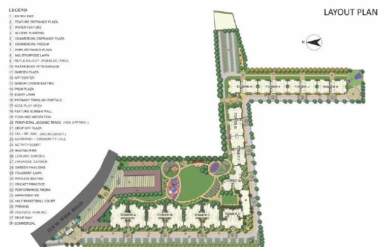Signature Global The Millennia 2 Affordable Housing Sector 37D Gurgaon Gurugram Dwarka Expressway Affordable Affordable Homes site plan