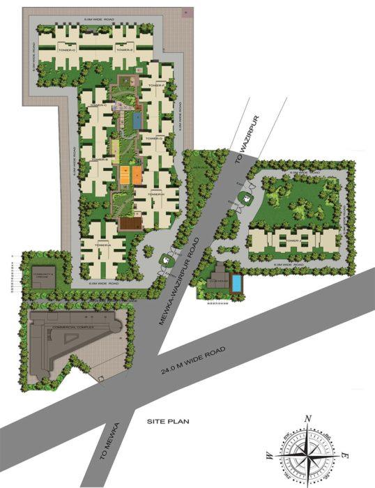 GLS Avenue 51 Affordable Housing Sector 92 Gurgaon,Gurugram Affordable, Affordable Homes SITE PLAN