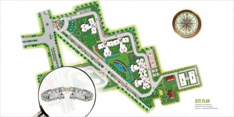 Supertech 48 Canvas Gurgaon New Gurgaon (NH8) Apartment Residential-Site-Plan