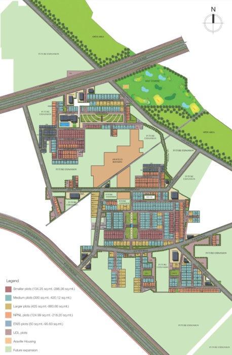Supertech Aadri Plots Gurgaon New Gurgaon (NH8) Affordable Affordable Plots Site-Plan