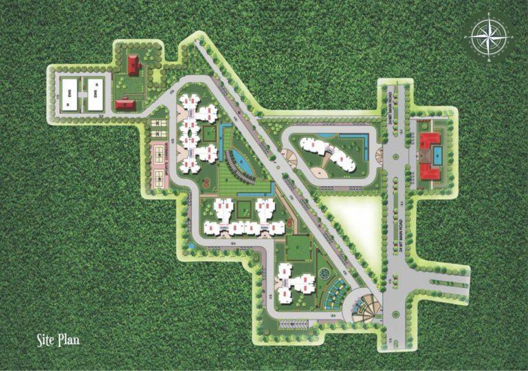 Supertech Araville Gurgaon New Gurgaon (NH8) Apartment Residential Site-Plan