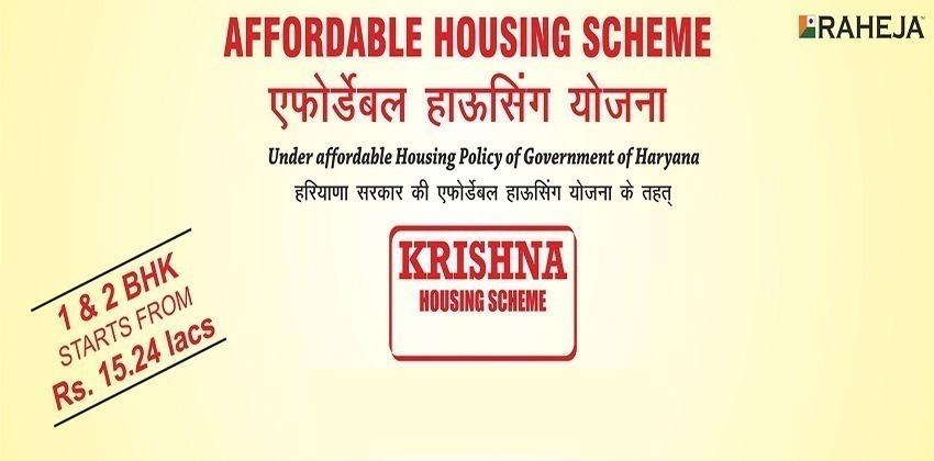 Raheja Krishna Affordable Housing Sector 14 Sohna Raod, South Of Gurgaon Sector 14 Sohna, Sohna Affordable, Affordable Homes