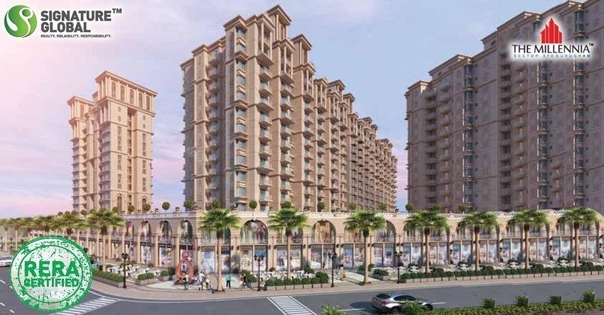 Signature Global The Millennia Affordable Housing Sector 37D Gurgaon Gurugram Dwarka Expressway Affordable Affordable Homes
