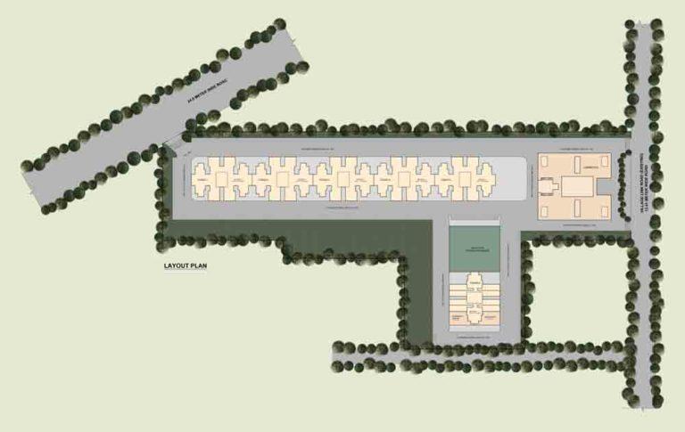 ROF Ramada Ananda Affordable Housing Sector 95 Gurgaon Gurgaon (NH8) Affordable Affordable Homes siteplan1